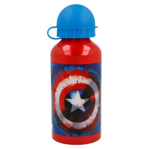 Bidón de aluminio Capitán America 400 ml