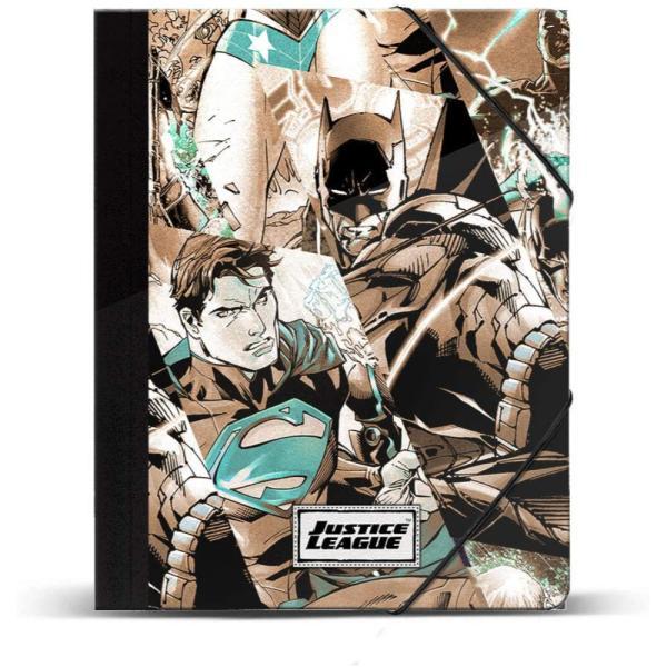 Carpeta de solapas Justice League A4