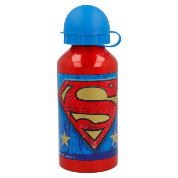 Bidón de aluminio Superman 400 ml