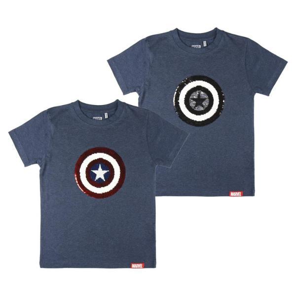 Camiseta corta Capitán America
