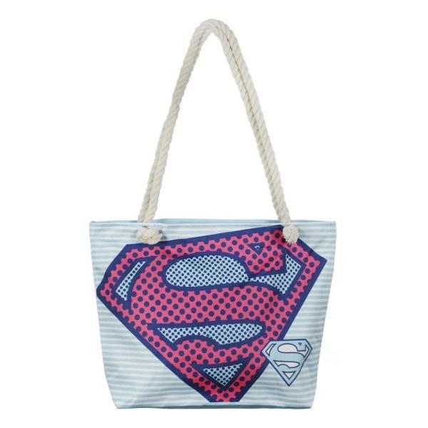 Bolso de playa Superman
