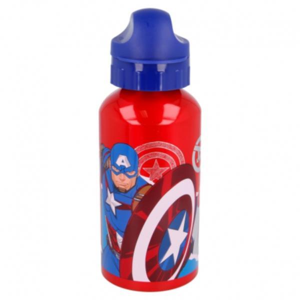Botella de aluminio Capitán América 500 ml